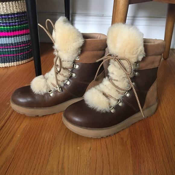 702fad7c5fa Ugg Viki Waterproof Shearling Boots